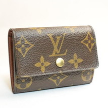 Louis Vuitton Monogramma Porte Monnaie con Zeppa Moneta Case M61930 IV Auth 7878 - $256.80