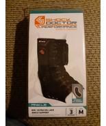 Shock Doctor 849 Ultra Gel Lace Up Ankle Support Black Level 3 Size MEDIUM - $29.69