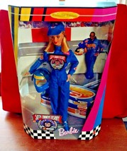 1998 Mattel BARBIE DOLL NASCAR 50th Anniversary Collector's Edition  NEW... - $8.90