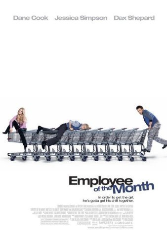 "Primary image for Employee Of The Month - 27""x40"" D/S Original Movie Poster One Sheet Jessica Simp"
