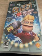Sony PSP Buzz! Master Quiz image 1