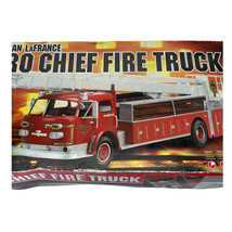 Ertl American LaFrance Aero Chief Fire Truck Mostly Sealed Parts 1:25 Mo... - $36.24