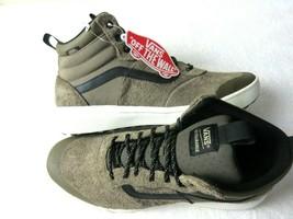 Vans Womens UltraRange Hi Cub Brown Black Marshmallow All Season Boots Size 8 - $55.43