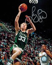 Larry Bird Signed Celtics Action Lay-Up 8x10 Photo - £114.60 GBP