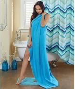 Towel Oversized Cotton Bath Sheet 34 by 68 Almost 6 Feet Long Choose 5 C... - $26.95