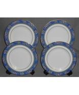 Set (4) 1993 Royal Doulton Bone China AUSTIN PATTERN Salad Plates ENGLAND - $69.29