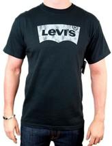 NEW NWT LEVI'S MEN'S PREMIUM CLASSIC GRAPHIC COTTON T-SHIRT SHIRT TEE BLACK image 1