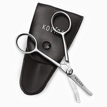 Nose Scissors - 4 Inch Rounded Scissors for Nose, Eyebrow, Ear, Dog Hair Trimmin