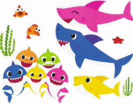 Roommates Baby Shark Wall Decal Set RMK4341SS
