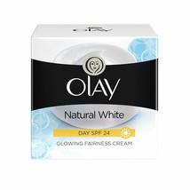 Olay Day Cream Natural White Fairness Moisturiser SPF 24, 50g For All Sk... - $15.63