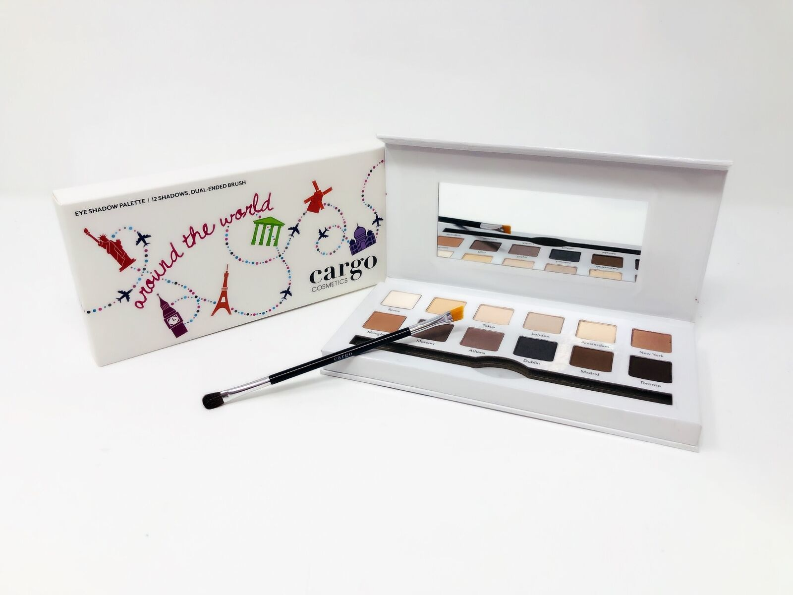 Primary image for Cargo Cosmetics Around the World Eye Shadow Palette .36 oz