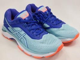 Asics GT 2000 v 6 Size US  6.5 M (B) EU 37.5 Women's Running Shoes Blue T855N image 2