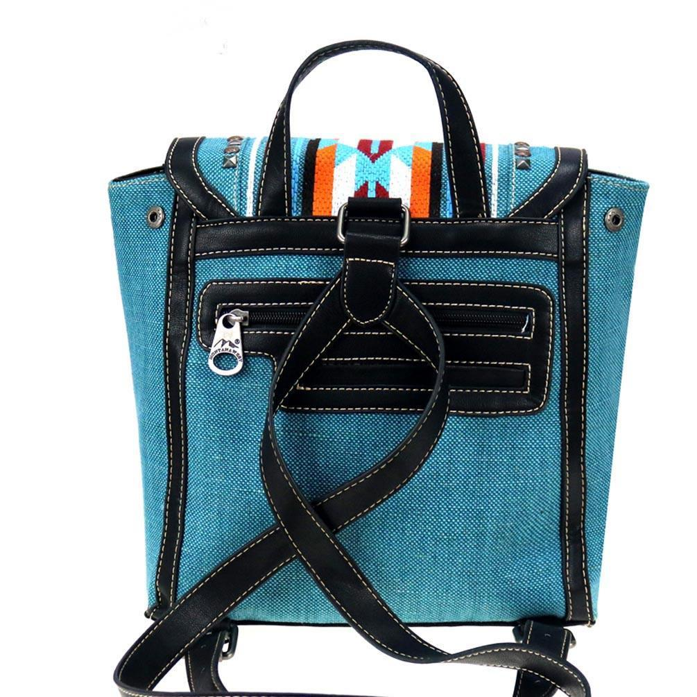 NWT Montana West Aztec Turquoise Backpack image 5