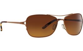 Oakley Conquest POLARIZED Sunglasses OO4101-01 Gold Tortoise W/ Graduate... - $74.44