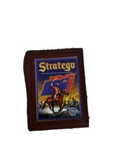 Stratego Bookshelf Game Wood Box Vintage Game Collection MB Games Never ... - $74.20