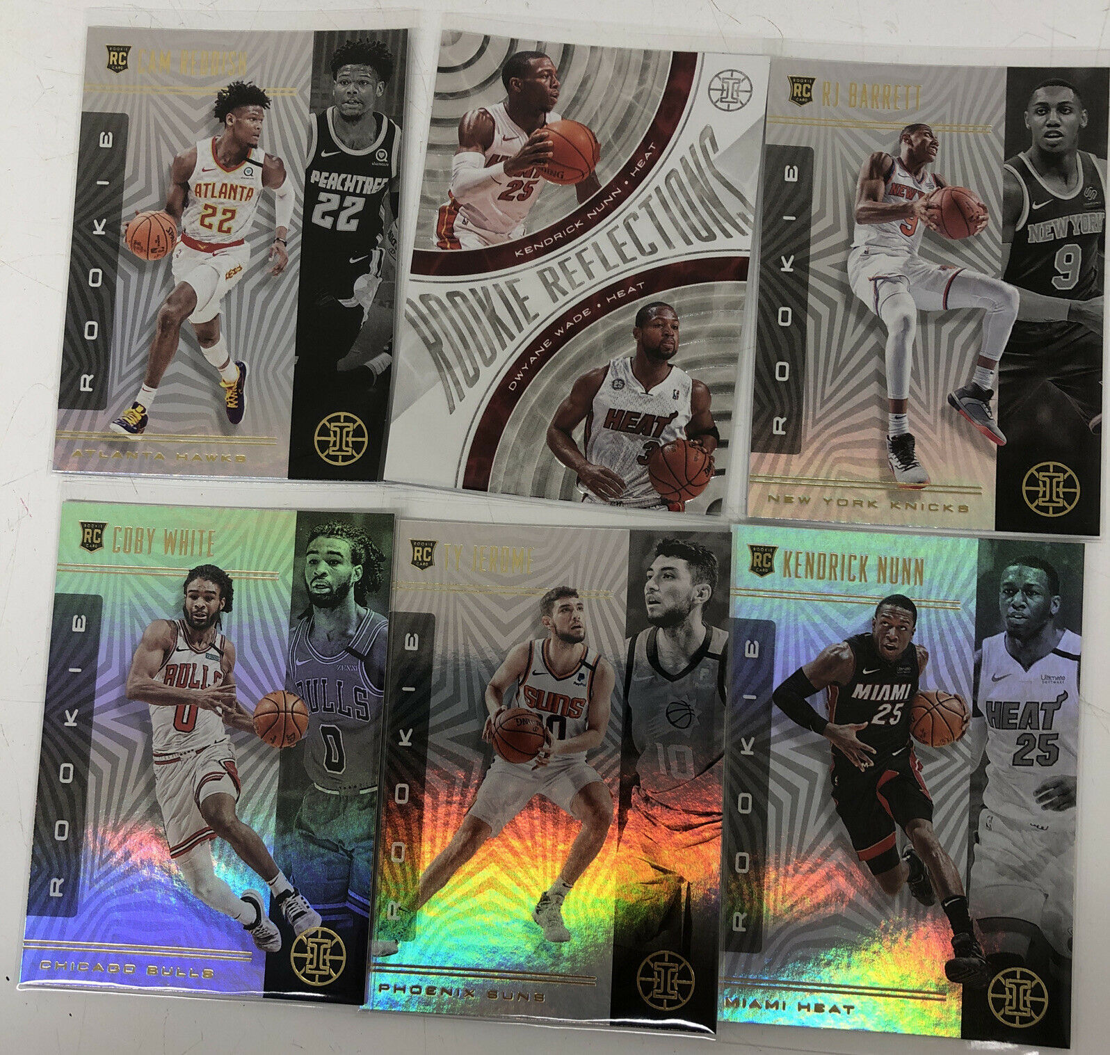 Primary image for 2019-2020 Illusions Basketball Kendrick Nunn Dwyane Wade Plus Other Rookies