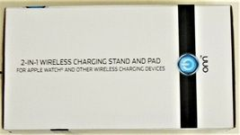 ONN 2-in-1 Wireless Charging Stand & Pad for Wireless Devices (Apple/Samsung) image 3
