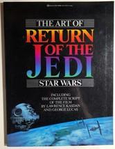 THE ART OF RETURN OF THE JEDI STAR WARS (1983) Ballantine illustrated SC... - $24.74
