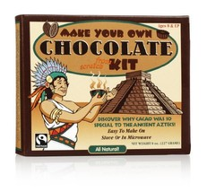 GLee Gum Organic DIY Chocolate Kit from All Natural Fair Trade Cocoa, 20 Pieces, image 1