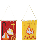 YOUTH ARTS AND CRAFTS CONFIRMATION BANNER KIT - $26.05