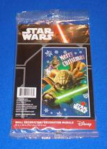 Brand New Walt Disney Star Wars Yoda Christmas Wall Decoration *Factory Sealed* - $4.99