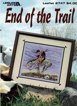 End of the Trail Cross Stitch Leisure Arts Leaflet 2747  - $7.95