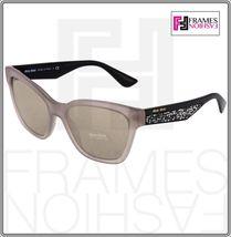MIU MIU PAVE EVOLUTION MU 06R Square Black Rock Opal Argil Sunglasses MU06RS image 9