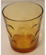 Flat Tumbler Old Fashion Glass Eldorado Gold Dots Hazel Atlas Mid Centur... - $7.87