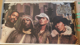 Black Eyed Peas Poster Signed by ALL 4 MEMBERS - Fergie, Will.I.Am etc - $58.49