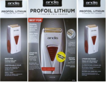Andis ProFoil Lithium Titanium Foil Shaver 17150 - $85.99