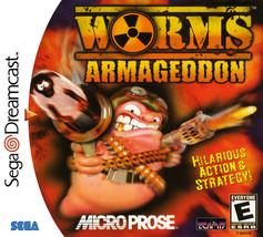Worms Armageddon Sega Dreamcast - $18.13
