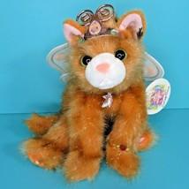"""Aurora Catapillers Tabitha Butterfly Fairy Cat Kitten 8"""" Plush Sharon Le... - $49.95"""