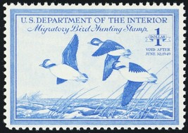 RW15, Mint VF+ NH Federal Duck Stamp Cat $60.00 - Stuart Katz - $35.00