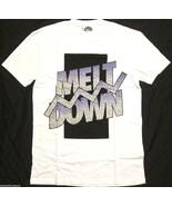 NWT $30 Topman by Topshop Meltdown Oversized T Shirt in White sz XXS - $17.80