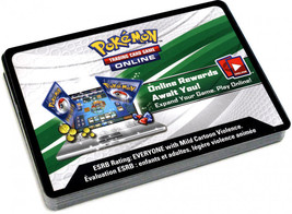 Marshadow Pin Box Shining Legend Online Code Card Pokemon TCG Sent by EB... - $1.99