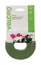 New! Velcro Green Plant Ties 30 ft. H x 1/2 in. W Cut to Length 90594ACS - €6,17 EUR