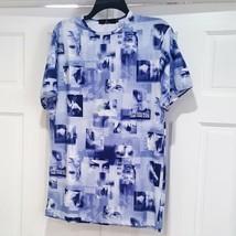 Eric  & Talia t-shirt New York XL SHORT SLEEVES BLUE WHITE NWOT  - $19.99