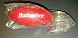 Vintage Budweiser Football Bottle Opener Key Chain NIP - $12.99