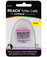 Reach Total Care floss with Listerine Fresh Flavors, 30 Yard (Pack of 3) - $49.49