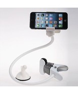Universal flexible long arm mobile phone holder white - $23.14