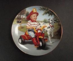 Danbury Mint Children of the Week Thursday's Child Plate w/box, no COA - $8.99