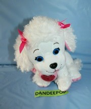 Xavier Roberts Adoptimals Animal White Poodle Dog With Sound Collar CPK - $17.81