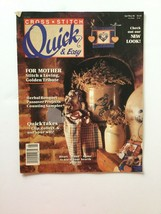 Cross Stitch: Quick & Easy Cross Stitch Magazine April May 1990 - $2.96