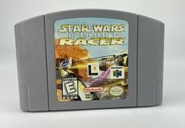 Star Wars Episode 1 Racer - Nintendo N64 Game Authentic - 1997 - $18.69