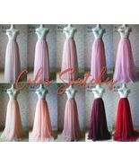 Tulle TUTU Color chart / Tulle Color Swatches - Dressromantic - $0.30