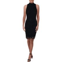 Lauren Ralph Lauren Dress Lace open back Navy Blue Cocktail Sz 14 NEW NWT - $79.99