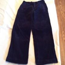 Size 10 Polo Ralph Lauren corduroy pants blue flat front boys - $12.99
