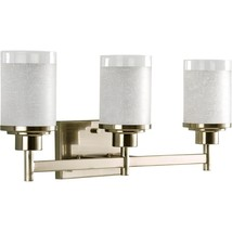 Bathroom Vanity Light 22 in. 100-Watt Adjustable Glass Shades Brushed Nickel - $102.91