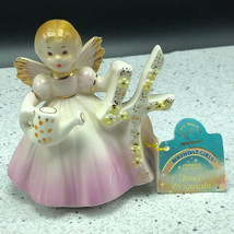 JOSEF ORIGINALS FIGURINE birthday angel applause through years 4 water c... - $34.65