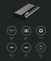 Micronics OT-709 USB C Hub 8 in 1 LAN HDMI SD TF Card DeX Multi Port Hub image 5